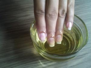 corretamente as suas unhas
