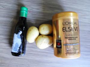 Receita da hidratação capilar de batata