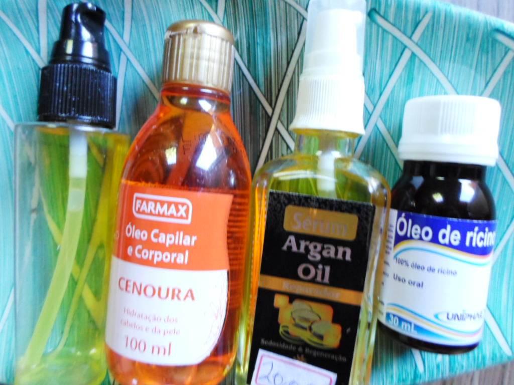 óleos para umectação