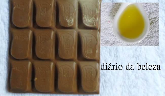 chocolate e azeite