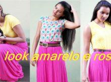 look-amarelo-e-rosa