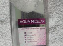 água micelar lóreal paris