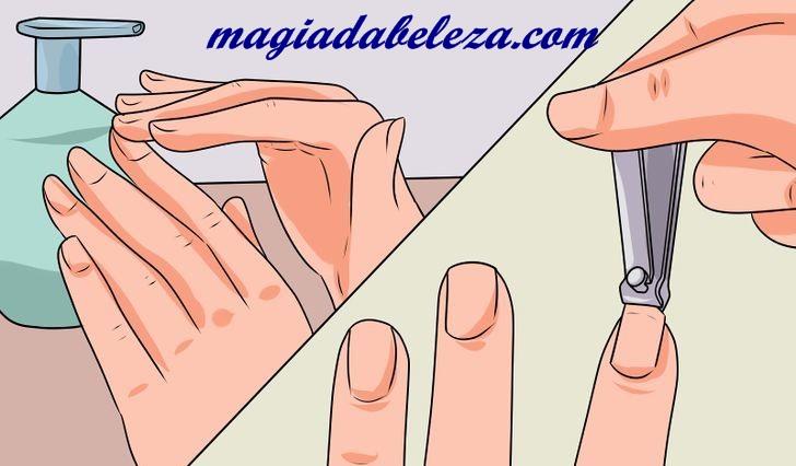 hidratar as unhas