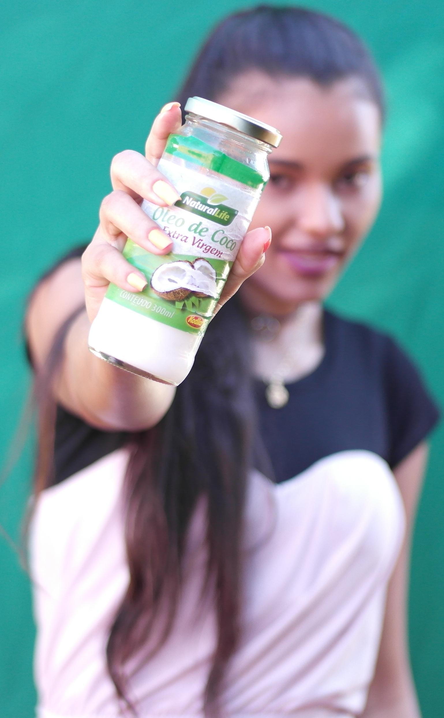óleo de coco extra-virgem