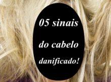 05 sinais do cabelo danificado