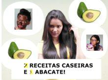 receita caseira com abacate