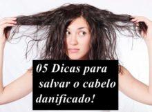 dicas para recuperar cabelo danificado