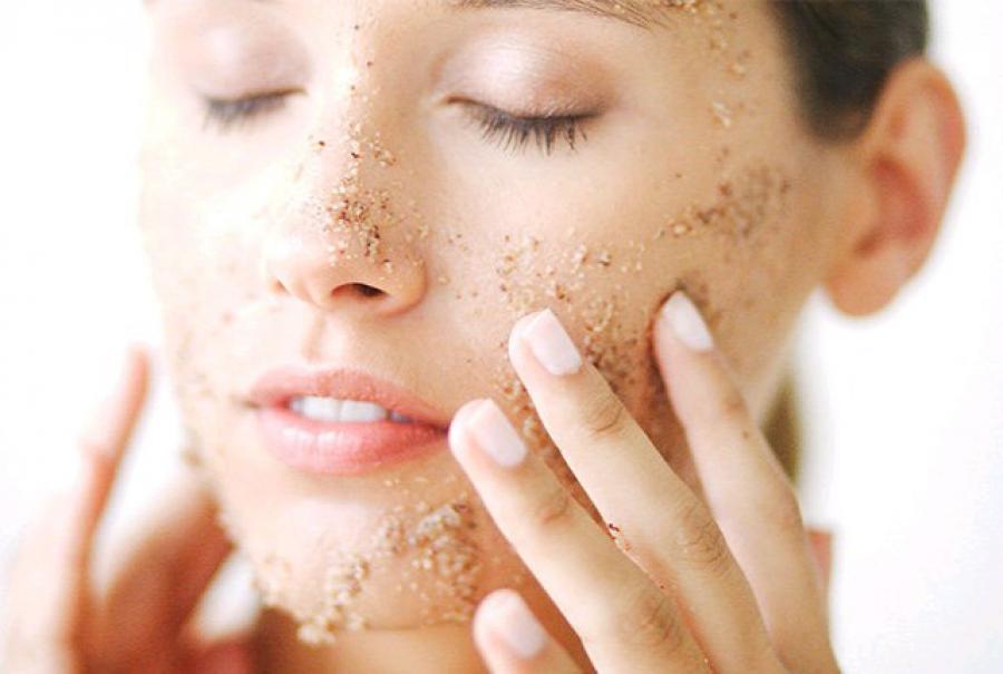 Esfoliação facial