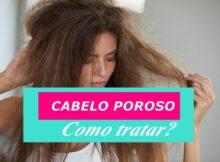 tratamentos caseiro para cabelo poroso