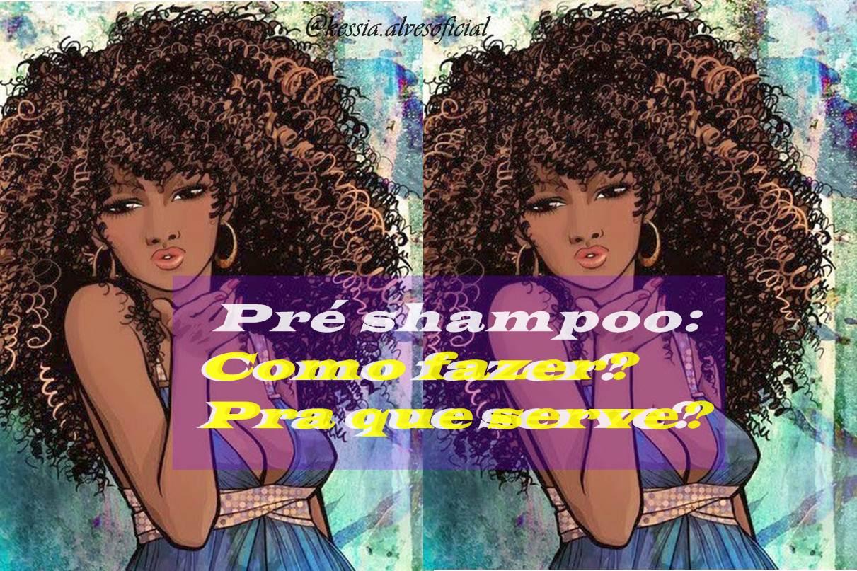 pré-shampoo caseiro