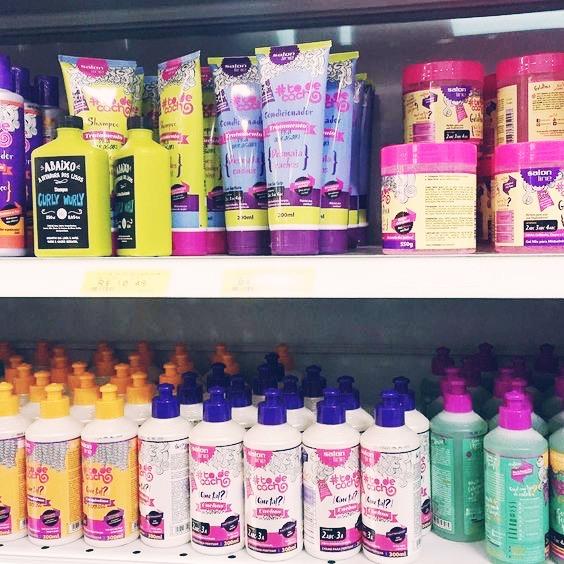 produtos para cabelos cacheados baratinhos