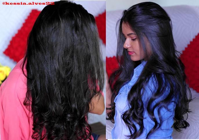 como dar brilho ao cabelo Késsia Alves