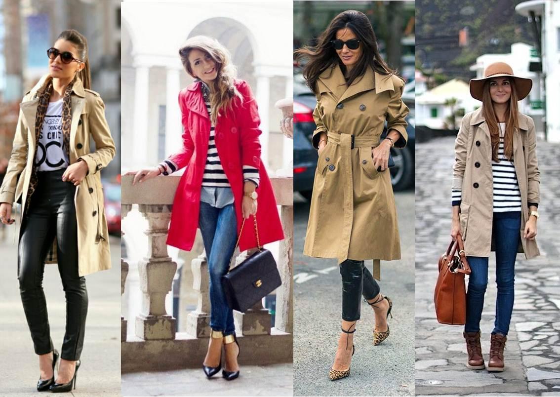 como compor looks com treach coat para o inverno