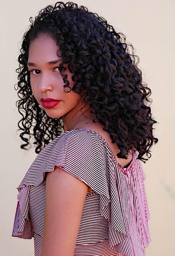 cabelos cacheados Vanessa ester