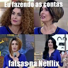 a peruca de Fátima Bernades