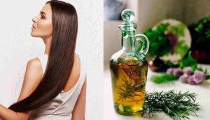 benefícios do alecrim para os cabelos
