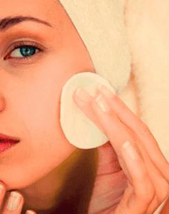 limpeza de pele facial com vinagre de maça