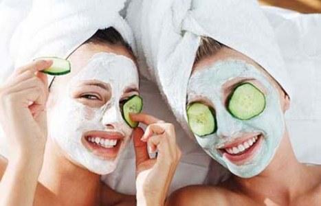 Máscaras caseiras- pele de bêbê