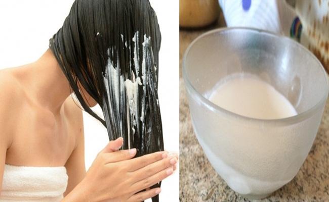 receita caseira para cabelo com química