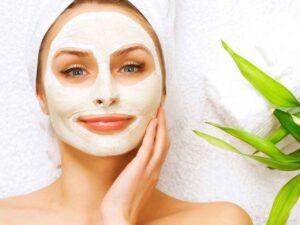 máscara facial para o rosto