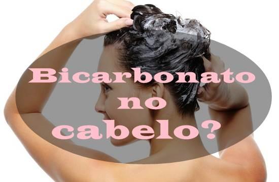 como aplicar bicarbonato no cabelo