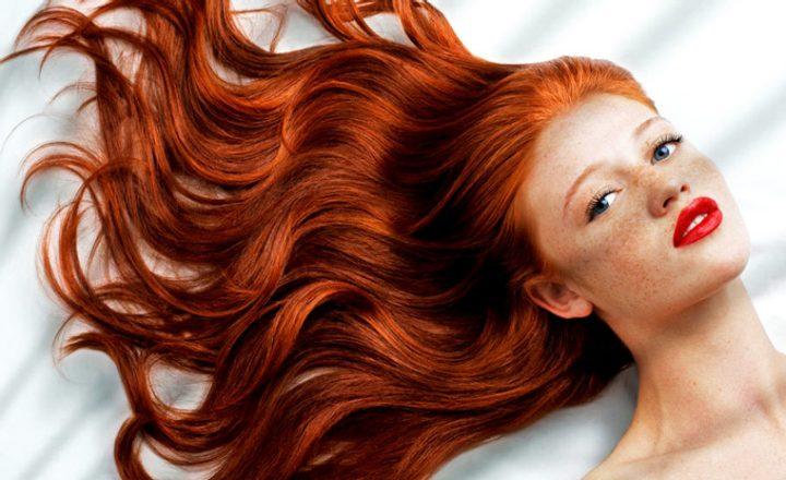 cabelo ruivo colorido