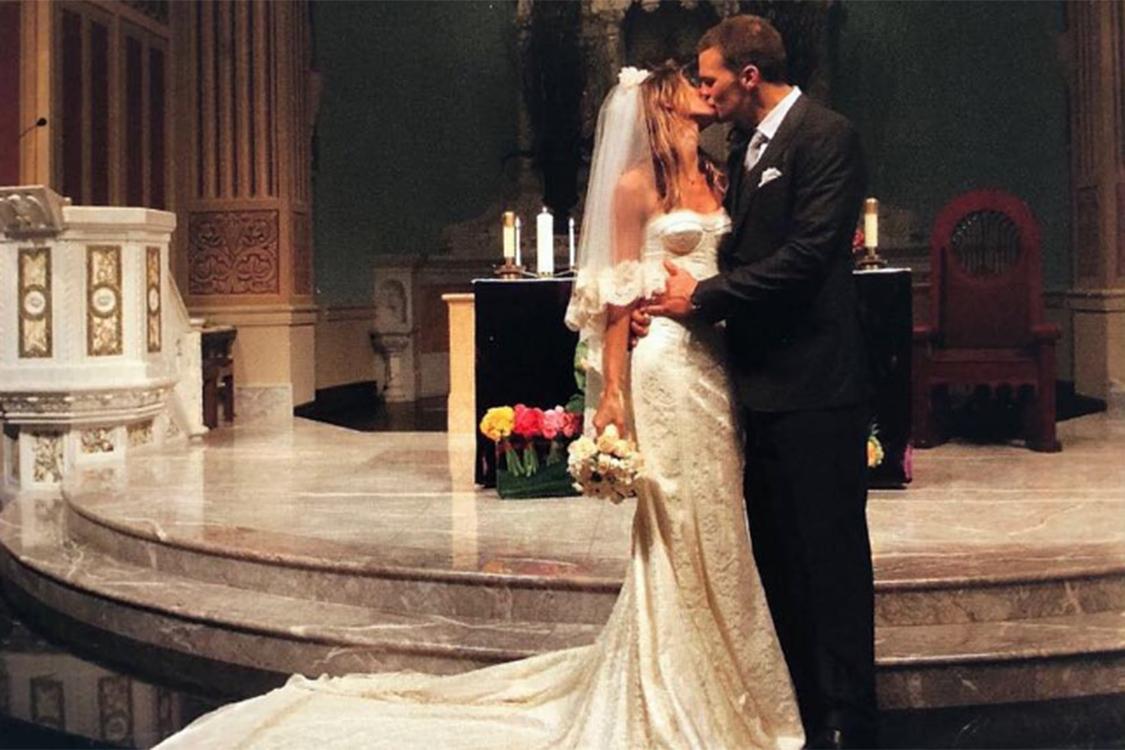 o casamento de Gisele Bundchen e Tom Brady